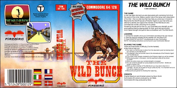 The Wild Bunch Project - C64 Version By Jon Wells